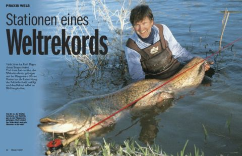 Stationen eines Weltrekords – Fliegenfischen auf Wels
