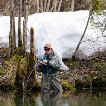 Fliegenfischen am Förchensee – Saisonauftakt