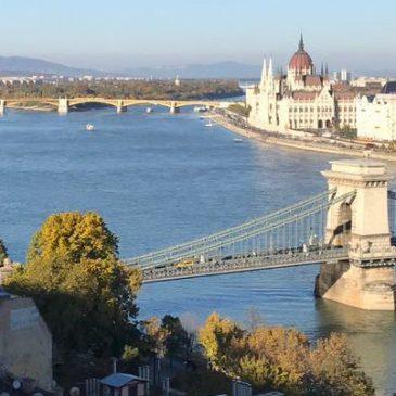 Budapest, Ungarn, Fliegenfischen?