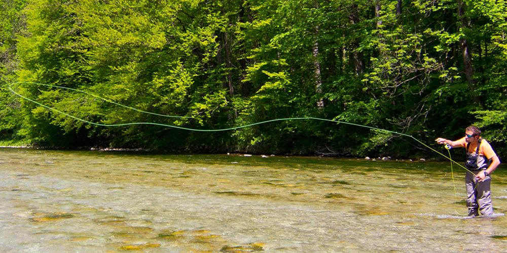Lernen Sie Fliegenfischen im Chiemgau!