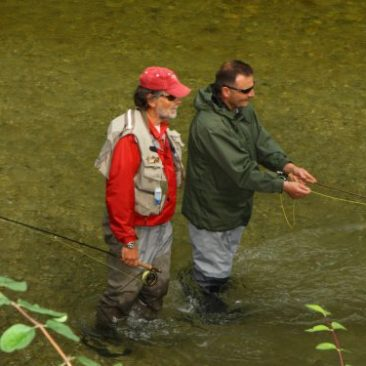Fliegenfischerschule Rudi Heger