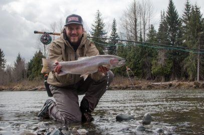 Fliegenfischen auf Steelhead – Frühjahr im Skeena Gebiet