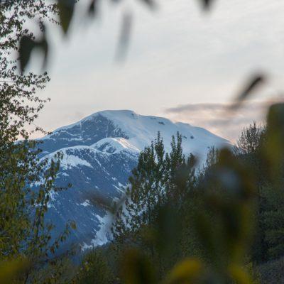 Die Berge im Skeena Gebiet sind atemberaubend.