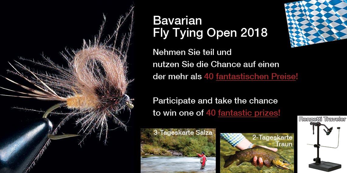 Bavarian Fly Tying Open 2018