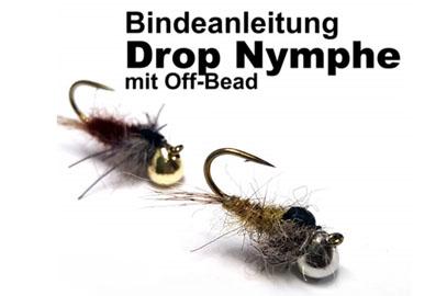 Fliegenbinden Anleitung Drop / Off Bead Nymphe