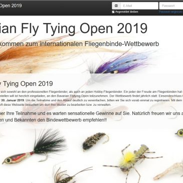 Fliegenbindewettbewerb 2019